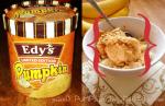 jacked pumpkin ice cream sundae
