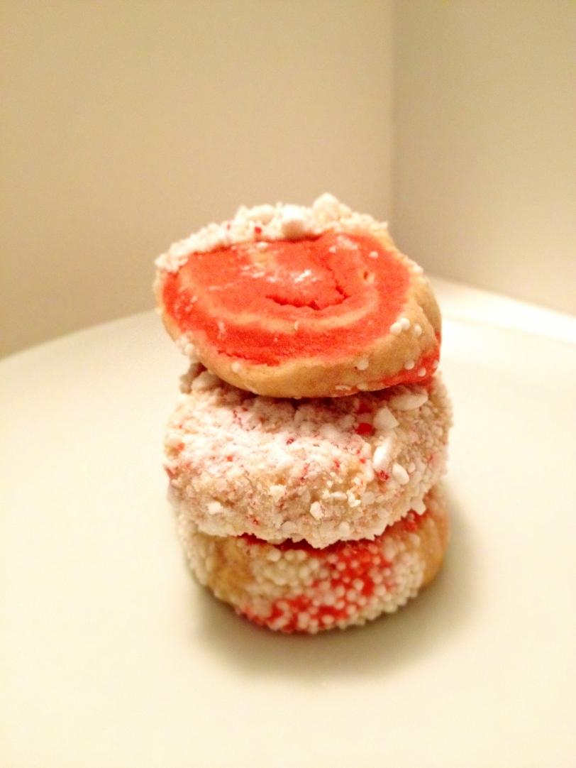 Peppermint Swirl Sugar Cookies