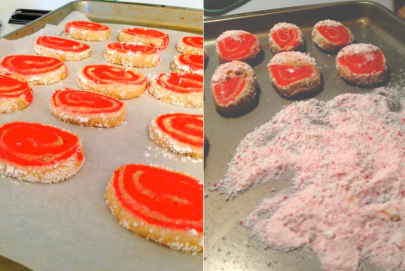 Peppermint Swirl Sugar Cookies 3