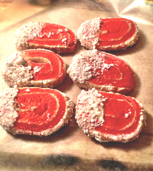 Peppermint Swirl Sugar Cookies 5